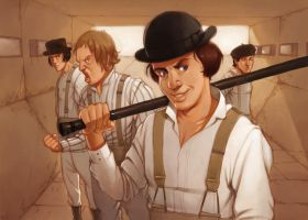 clockwork orange by Odinrules