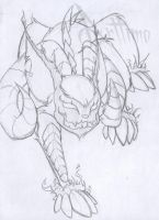 mutant acara sketch by albinoshadow