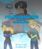 Cyan's Revenge Chapter 2 Cover by Sweatshirtmaster