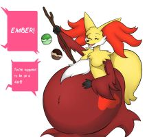 :Commission: Ember Pokepuff Sequence 3 by AllyMoodyNeko
