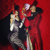 Bayonetta and Jeanne by LingLostHappinesXiao