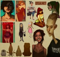 sketchblog sketchdump by loish