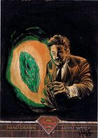 Superman: The Legend sketchcard 57 by RobertHack