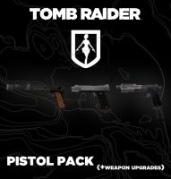 TOMB RAIDER Pistol pack (+weapon upgrades) by doppelstuff