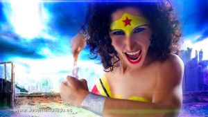 Wonder Woman Body Paint by Jose Manchado by MorganaCosplay