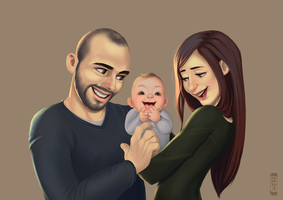 Father's day commission by dennia