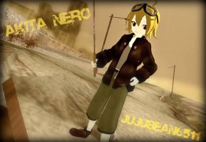 [MMD] Apocalypse Nero +DL by Party-P