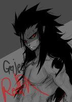 Gajeel Redfox by Stray-Ink92