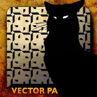 Vector Patterns. B CAT by paradox-cafe
