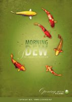 Morning Dew Poster by dolosan