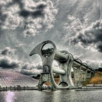Falkirk Wheel III by EvranOzturk