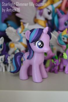 Starlight Glimmer filly custom [FOR SALE] by Antych