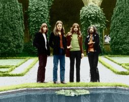 Pink Floyd Colorized by GQRodrigues