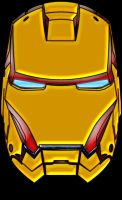 Ironman Mask color by deejaywill