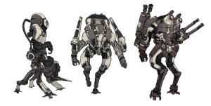 Mechs 02 by Stephen-0akley
