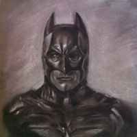 Charcoal Batman by makwacheong