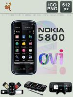 Nokia 5800 Icons by fredpsycho83