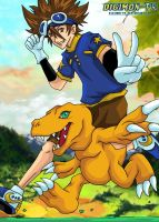 Digimon FR - Tai and Agumon by Digimon-FR