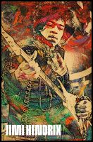 Jimi Hendrix 2 by LiFeB4dEaTh