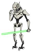 General Grievous by Montatora-501