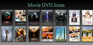 Movie DVD Icons 5 by manueek