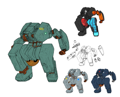 Earth Mecha by Norsehound