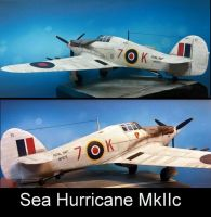 SEA HURRICANE MkIIc by Makingscalemodels