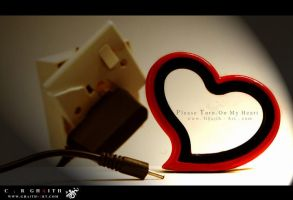 Please turn on my heart by Ghaith-Salih