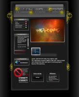 My Web Page psd by Willy08