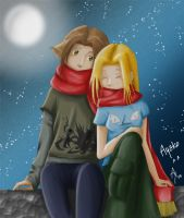 Charlie and Lucy :3 by ayako-chibi-chan