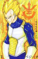 Dragon Ball Z Vegeta by ChrisOzFulton