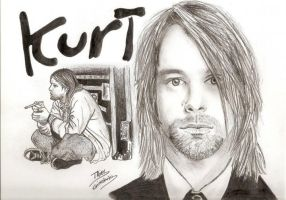 Kurt Cobain by Taiel