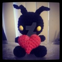 Heartless by StitchedLoveCrochet