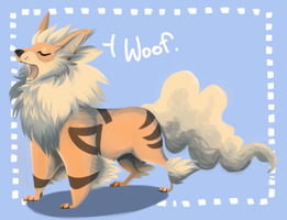 arcanine by xDorchester