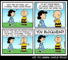 Are You Winning Charlie Brown? by CitizenWolfie