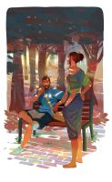 You always draw ! by Nesskain