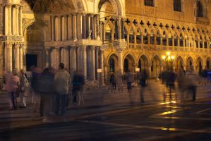 At San Marco at night by sunflower983