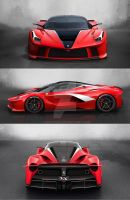 LaFerrari XFX by agespoom