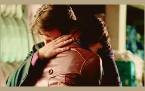 Castle-Beckett Hug by michygeary