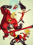 The Incredibles by MickeColman