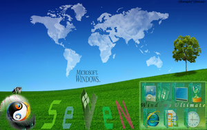 Windows 7 Desktop Theme 7.11 by SeraphSirius