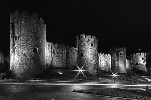Conwy castle at night 3 by CharmingPhotography
