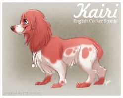 Kairi - English Cocker Spaniel Concept by Nyaasu