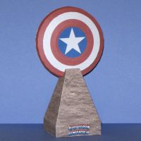 Captain America's Shield by Tektonten