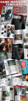 Game Magazine Template by BALKAy