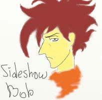 Sideshow Bob - and some colour by HelgaRHuffle