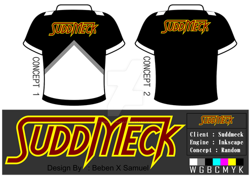 [[Project]] SuddMeck T-Shirt Design by Megaangkasa
