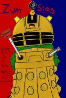 WWII German Dalek by wolfstare5