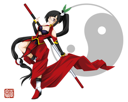 -BlazBlue - Litchi I by Wanganator