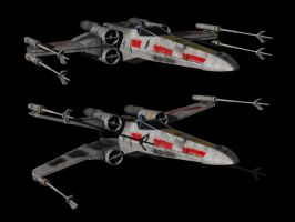 X-Wing fighter by metlesitsfleetyards